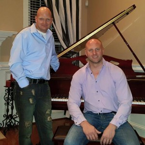 2 Bald Guys Dueling Pianos
